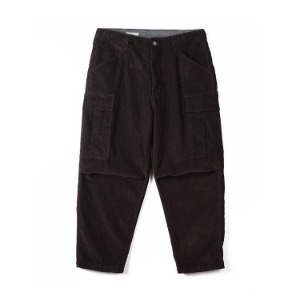 "SWELLMOB Corduroy M-51 Cropped Pants ""Brown"""