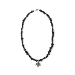 "ATEASE Large Thunder-Bird Necklace ""Onyx"""