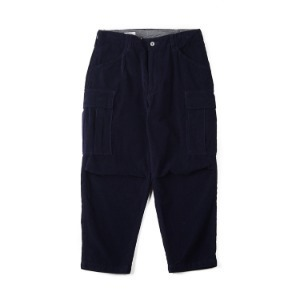 "SWELLMOB Corduroy M-51 Cropped Pants ""Navy"""