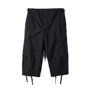"INSPIRE REMAKE BDU Cropped Pants ""Black"""
