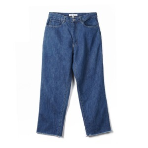 NOCLAIM Cut Off Wide Denim Pants (Used wash)