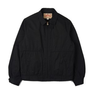 "SUGAR CANE Cotton Sport Jacket ""Black"""