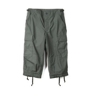 "INSPIRE REMAKE BDU Cropped Pants ""Olive"""
