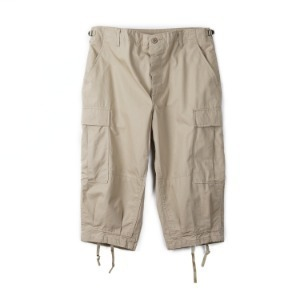 "INSPIRE REMAKE BDU Cropped Pants ""Khaki"""