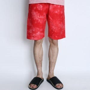 "CHAMPION Reverse Weave Dyeing Shorts C3-F507 ""Red (970)"""