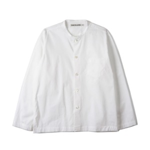 "NOCLAIM Box-fit Round Neck Shirts ""White"""