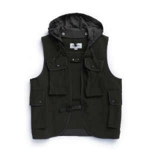 "EASTLOGUE Battle Jerkin Vest ""Olive Ripstop"""