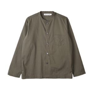 "NOCLAIM Box-fit Round Neck Shirts ""Khaki"""