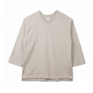 "KAPTAIN SUNSHINE Football Shirt ""Taupe Grey"""