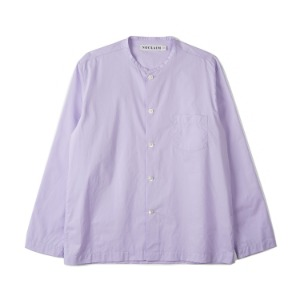 "NOCLAIM Box-fit Round Neck Shirts ""Lavender"""
