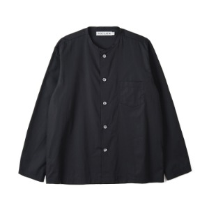 "NOCLAIM Box-fit Round Neck Shirts ""Black"""