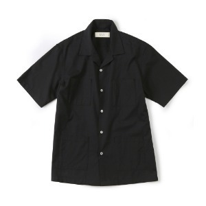 "SHIRTER 4P Open Shirt ""Black"""