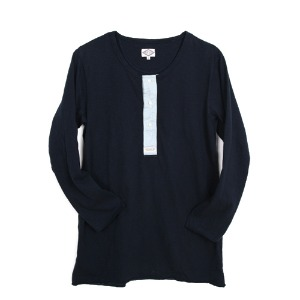 "Gooseberry Lay & Co. 40'S Tee ""Navy"""