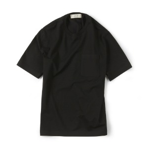 "SHIRTER Seamless Hem T-Shirt ""Black"""