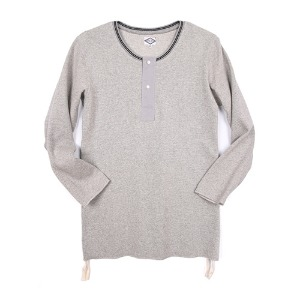 "Gooseberry Lay & Co. Ten's Tee ""Grey Melange"""