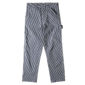 "STAN RAY Single Knee Painter Pants 1375 ""Hickory Stripe"""