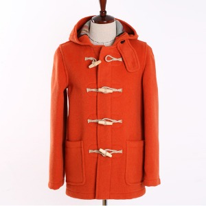 "LONDON TRADITION Martin NYNF Duffle Coat ""Orange"""