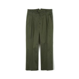"BANTS FLB Stretch Twill Wide Chino Pants ""Olive"""