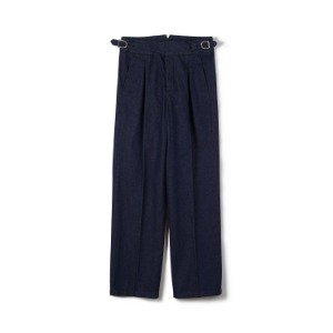 "BANTS FLB Washed Denim Gurkha Pants ""Indigo"""