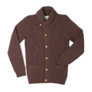 "Gooseberry Lay & Co. FISHERMANS Cardigan ""Brown"""