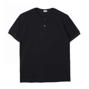 "NOCLAIM Round Neck Polo Shirt ""Black"""