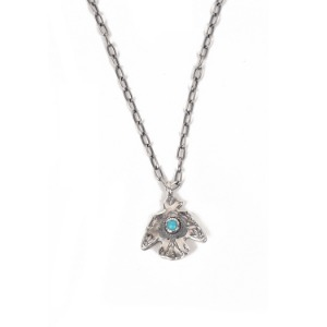"ATEASE Large Thunder Bird Necklace ""Turquoise"""