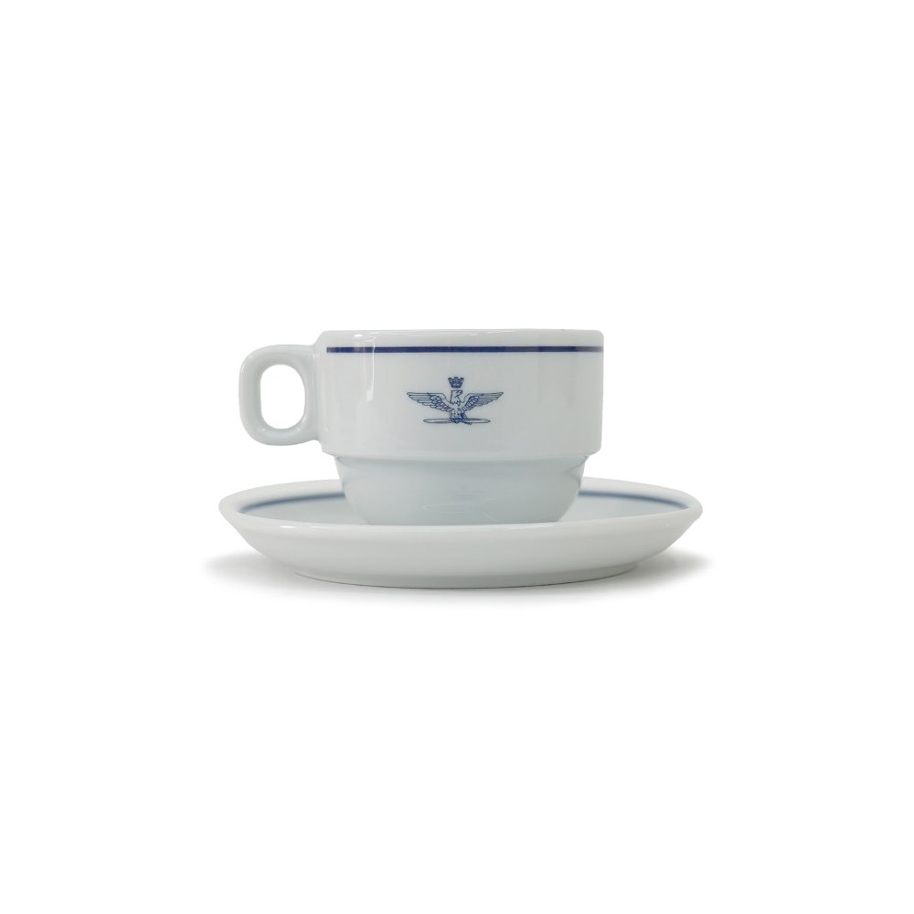 YMCL KY Deadstock Italy A.M.I Cappuccino Cup & Saucer