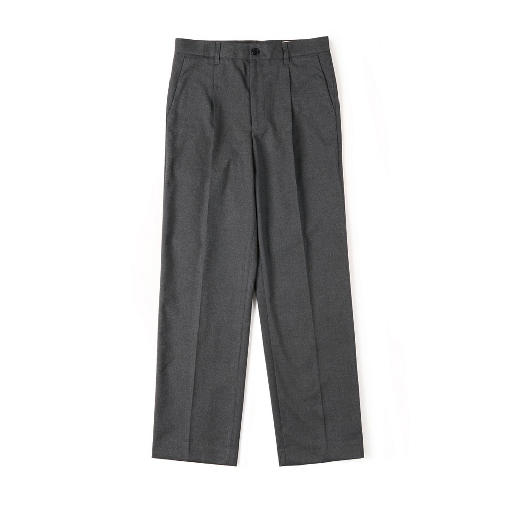 "SHIRTER Cinch-Back Loose Fit Pants ""Dark Grey"""