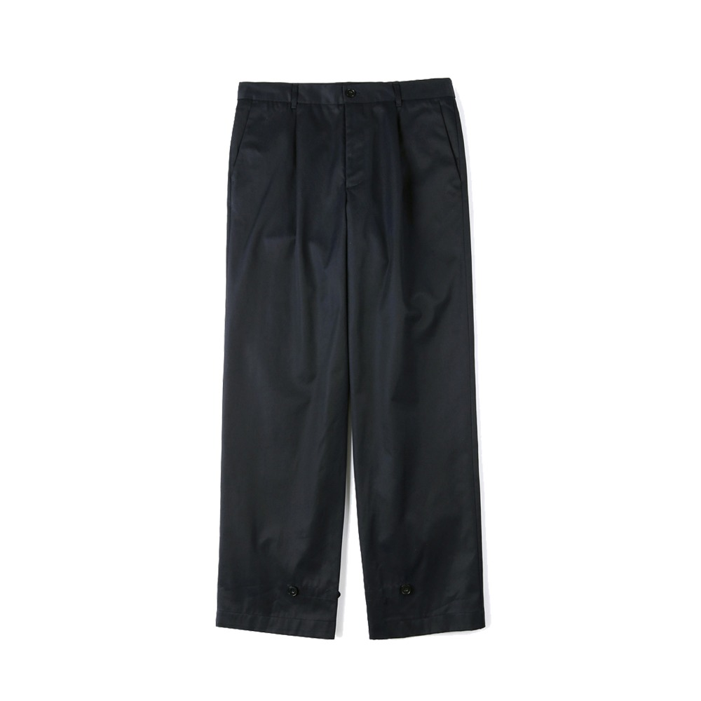 "SHIRTER Gabardine Cotton Pants ""Navy"""
