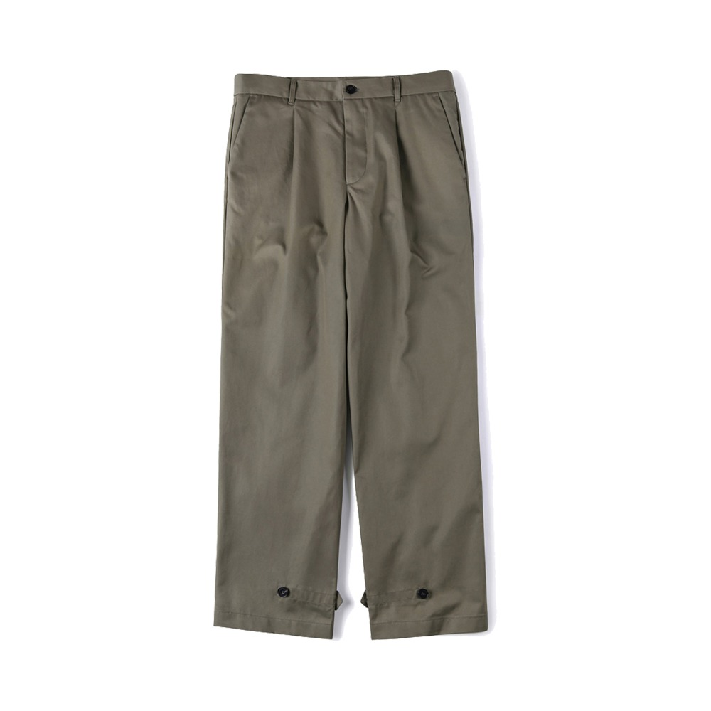 "SHIRTER Gabardine Cotton Pants ""Khaki"""