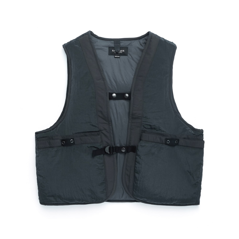 "EASTLOGUE Wagon Vest ""Grey Washer"""