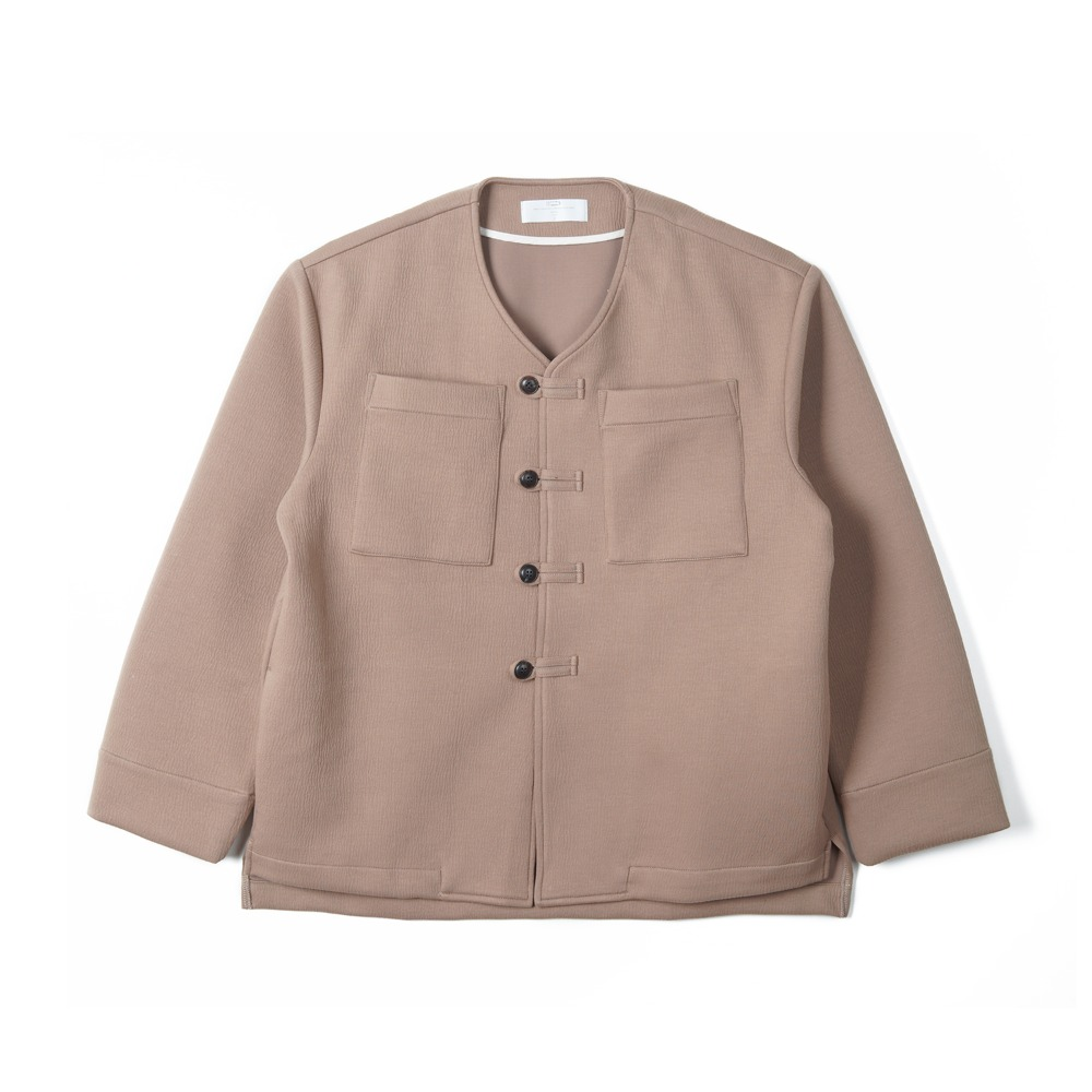 "BUNT Loop Button Jacket ""Brown"""