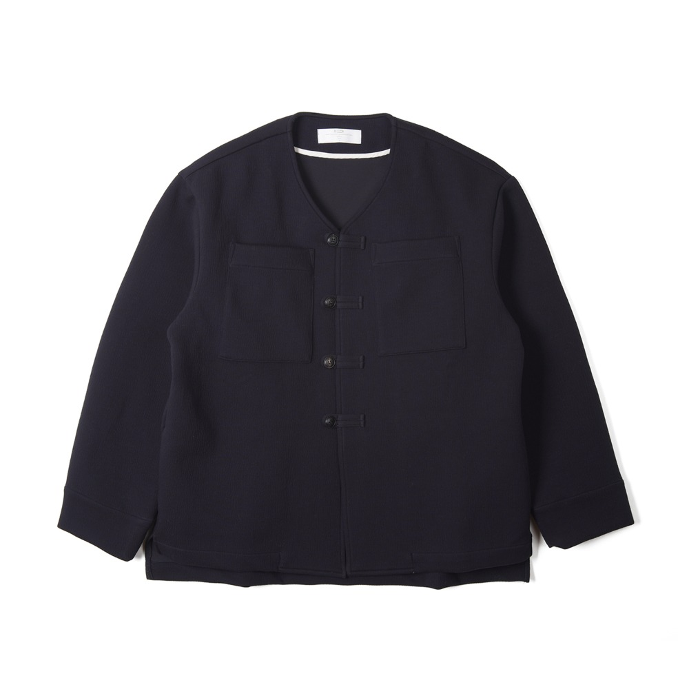 "BUNT Loop Button Jacket ""Navy"""