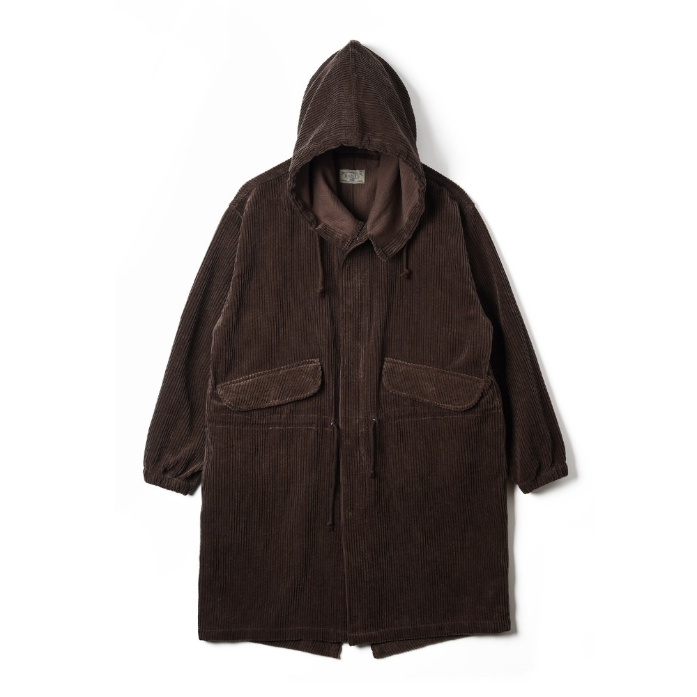 "BANTS OSF Corduroy Military Snow Camo Parka ""Brown"""