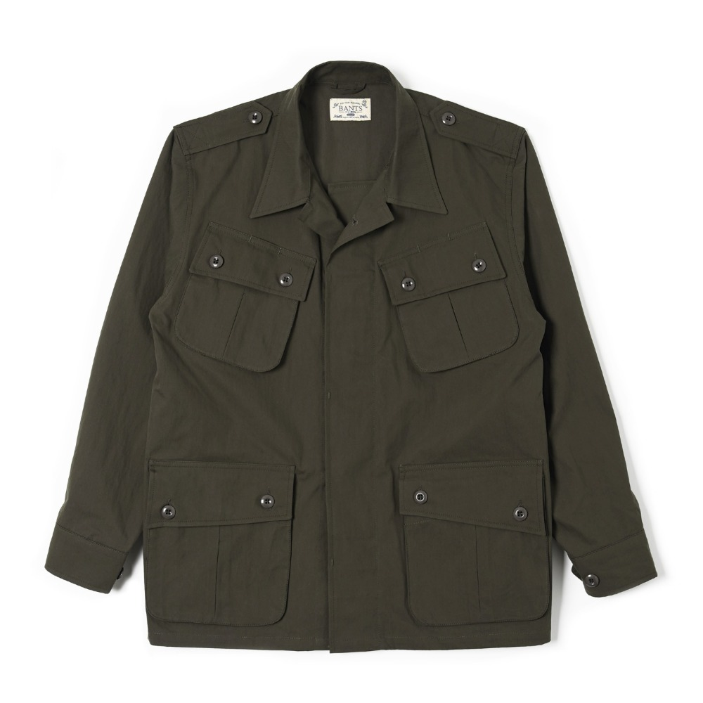 "BANTS OSF Jungle Fatigue Jacket ""Olive Drab"""