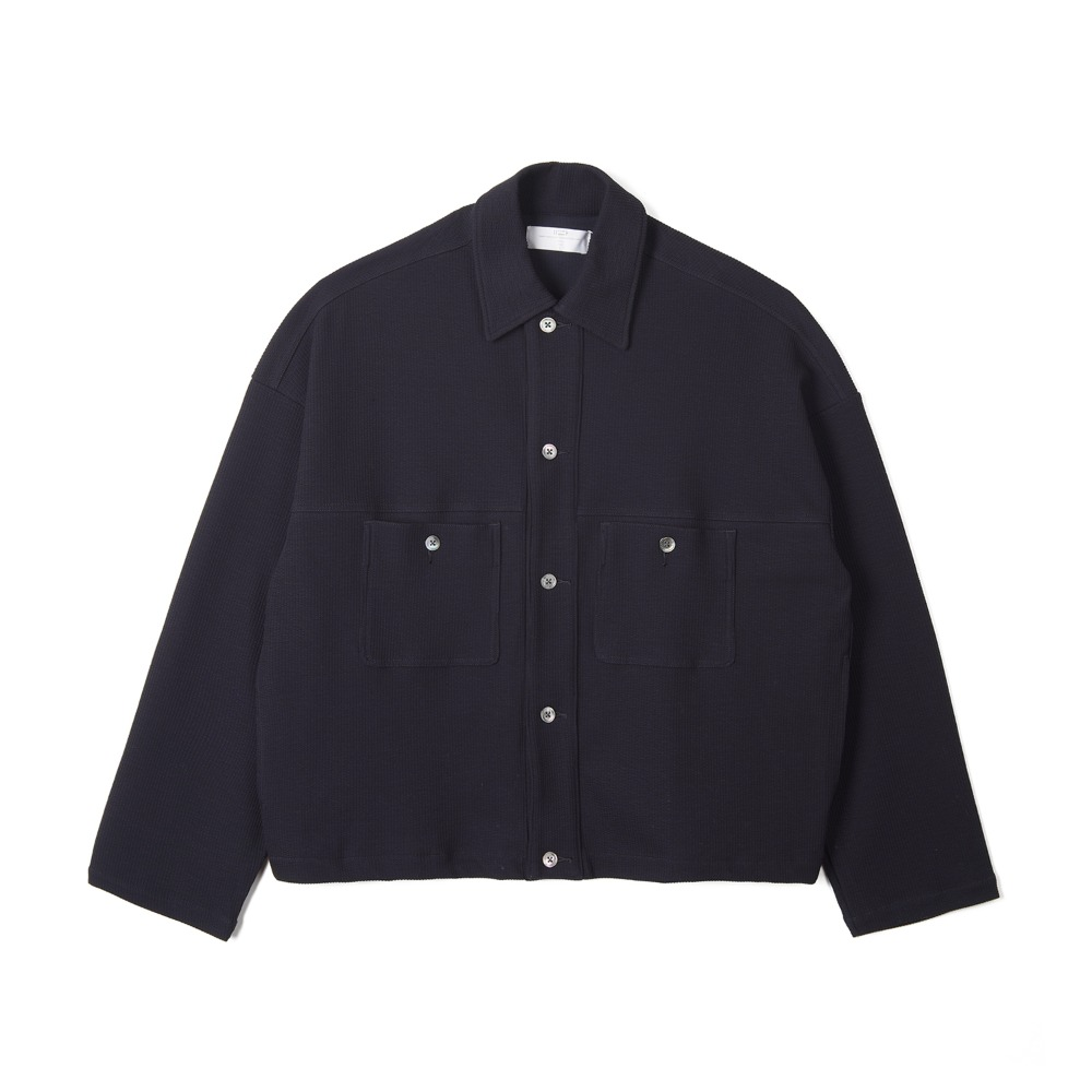"BUNT Knitted Corduroy Big York Jacket ""Navy"""