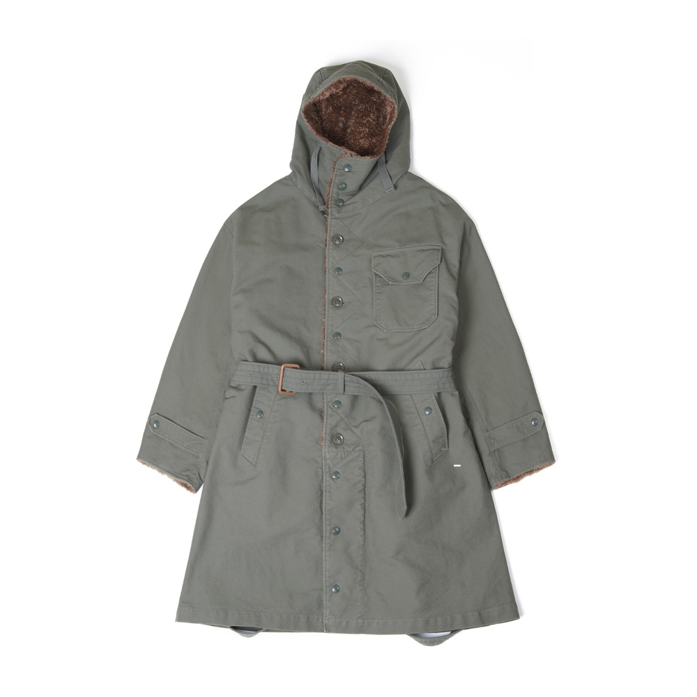 "ENGINEERED GARMENTS Coastline Parka ""Olive Cotton Double Cloth"""