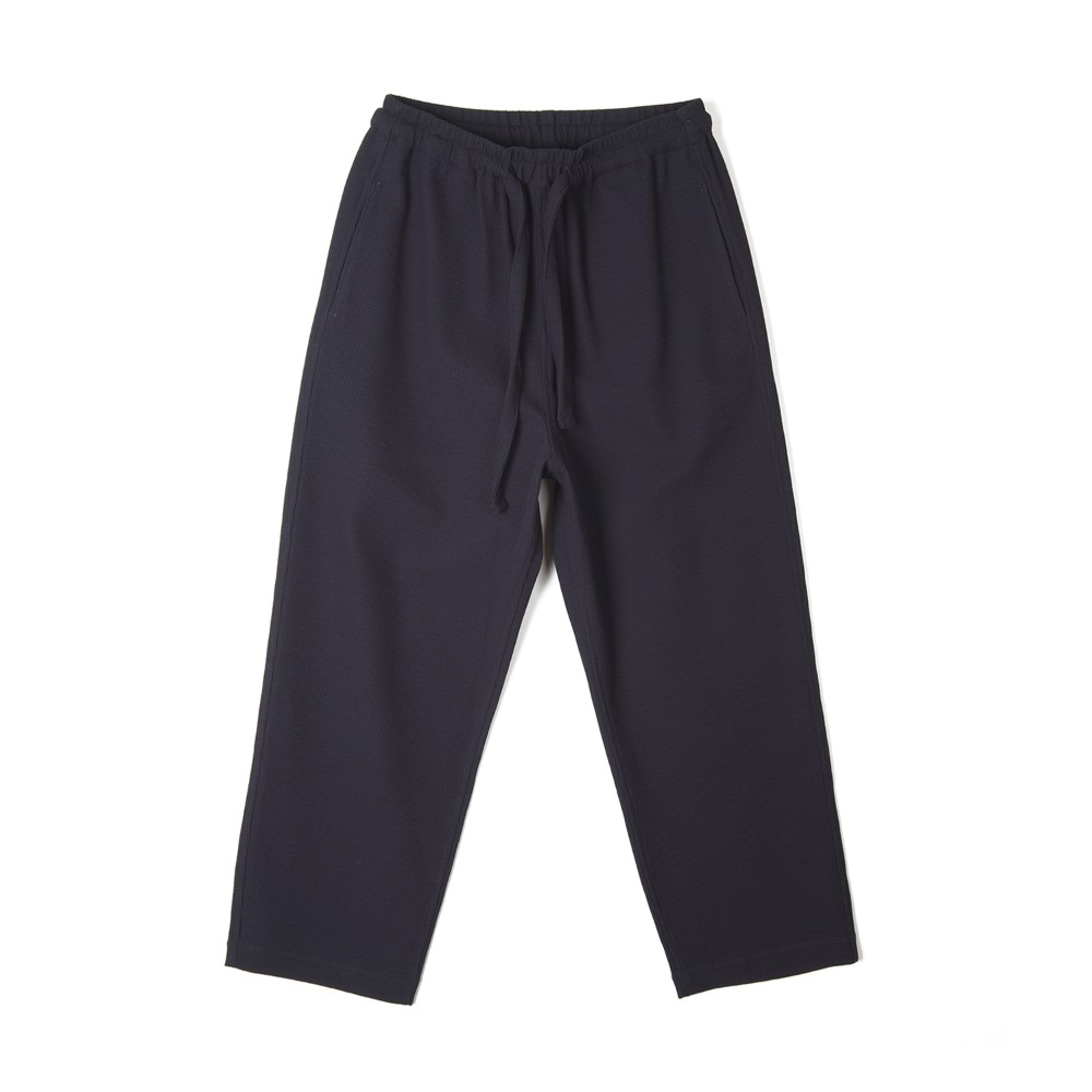 "BUNT Knitted Corduroy Comfy Pants ""Navy"""
