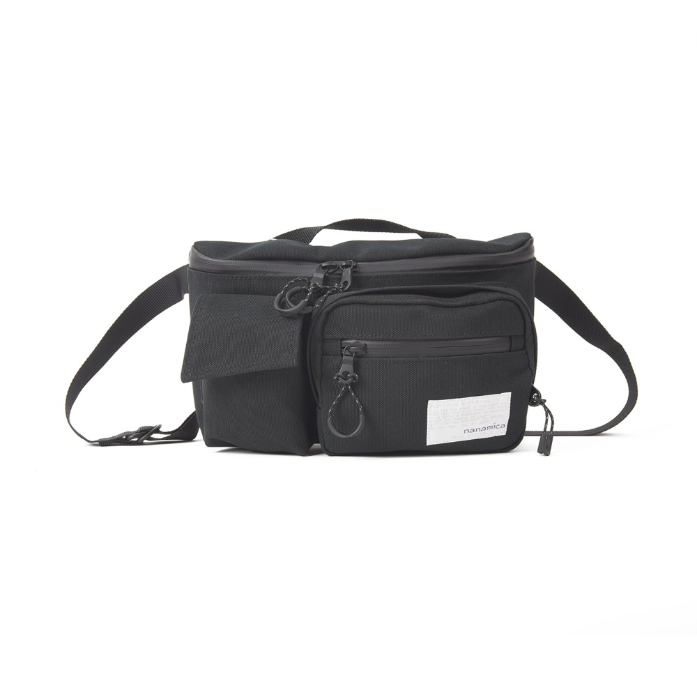 "NANAMICA Waist Bag ""Black"""