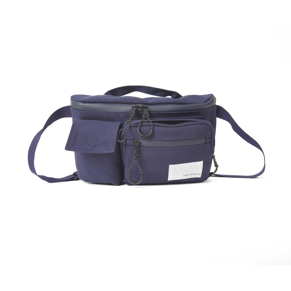 "NANAMICA Waist Bag ""Navy"""