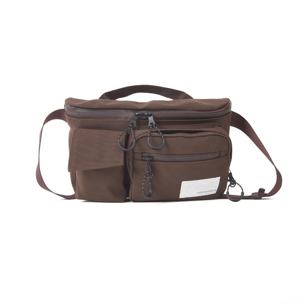 "NANAMICA Waist Bag ""Dark Brown"""