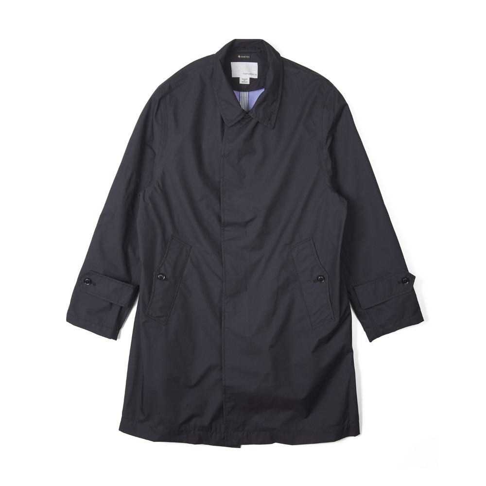 "NANAMICA GORE-TEX® Soutien Collar Coat ""Black"""