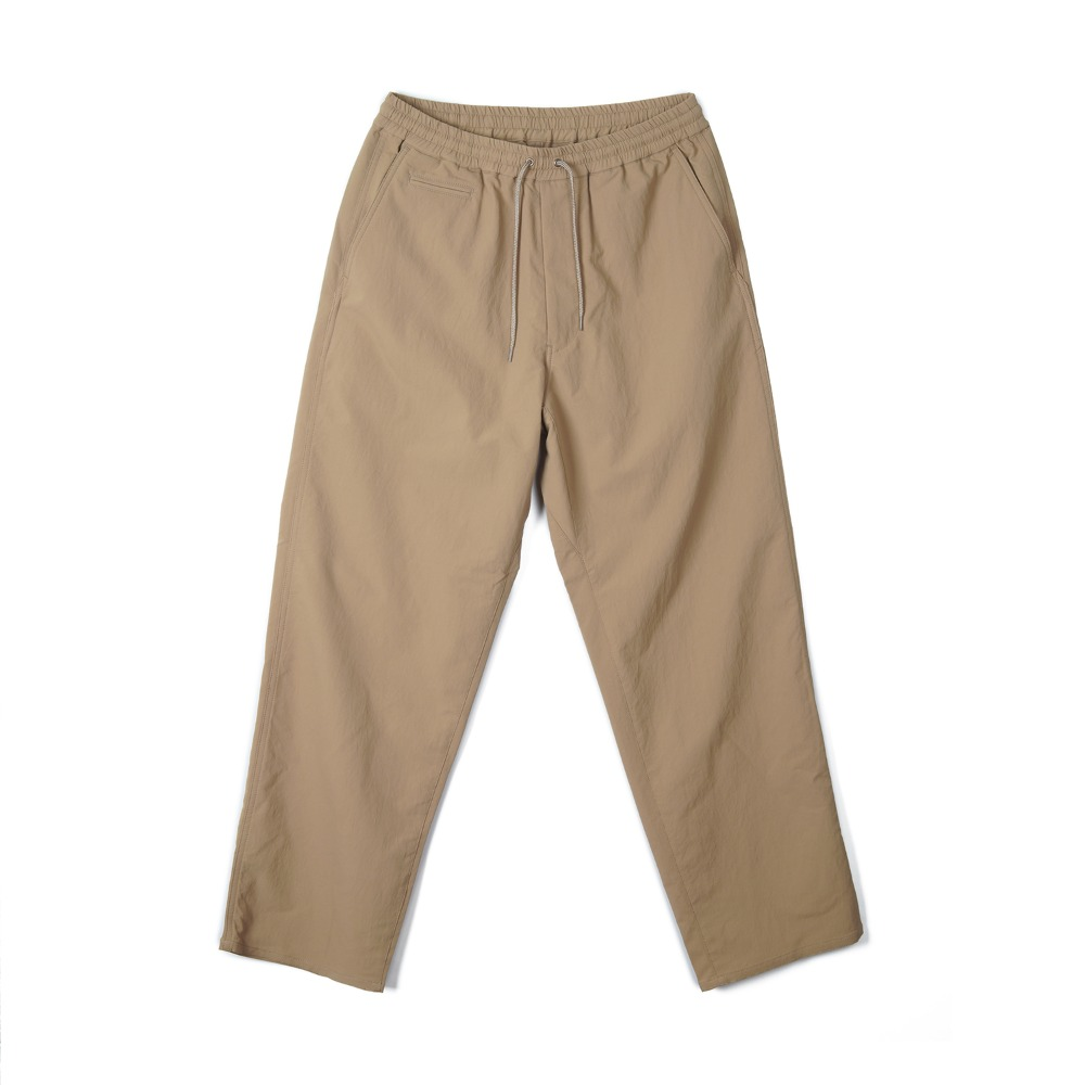 "NANAMICA ALPHADRY Wide Easy Pants ""Beige"""