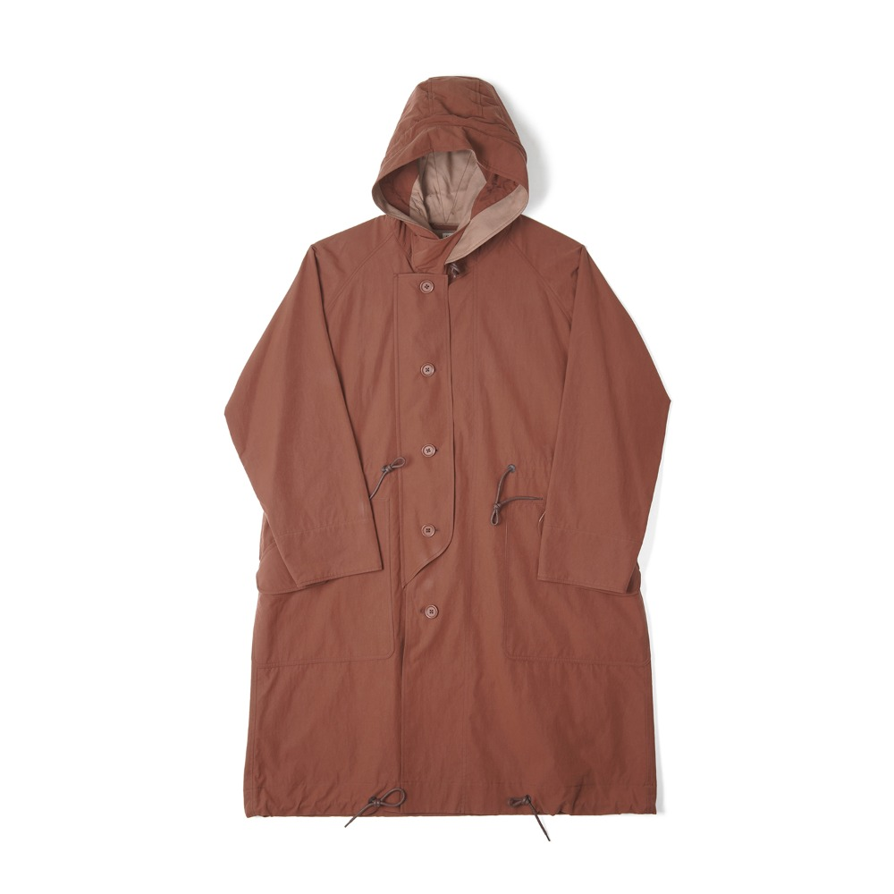 "KAPTAIN SUNSHINE All Weather Coat ""Brick Brown"""