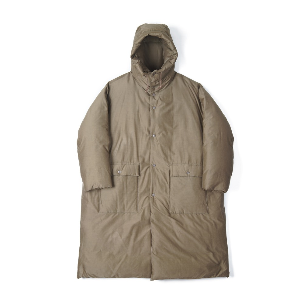 "KAPTAIN SUNSHINE Eskimo Down Coat ""Khaki"""