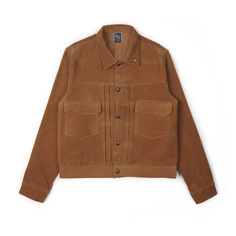 "LOCALS ONLY 2nd Corduroy Jacket ""Camel"""