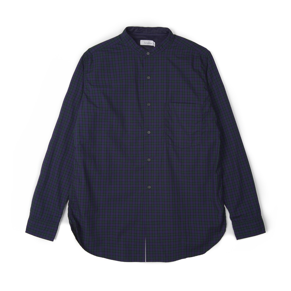 "NANAMICA Button Down Wind Shirt ""Black Watch"""