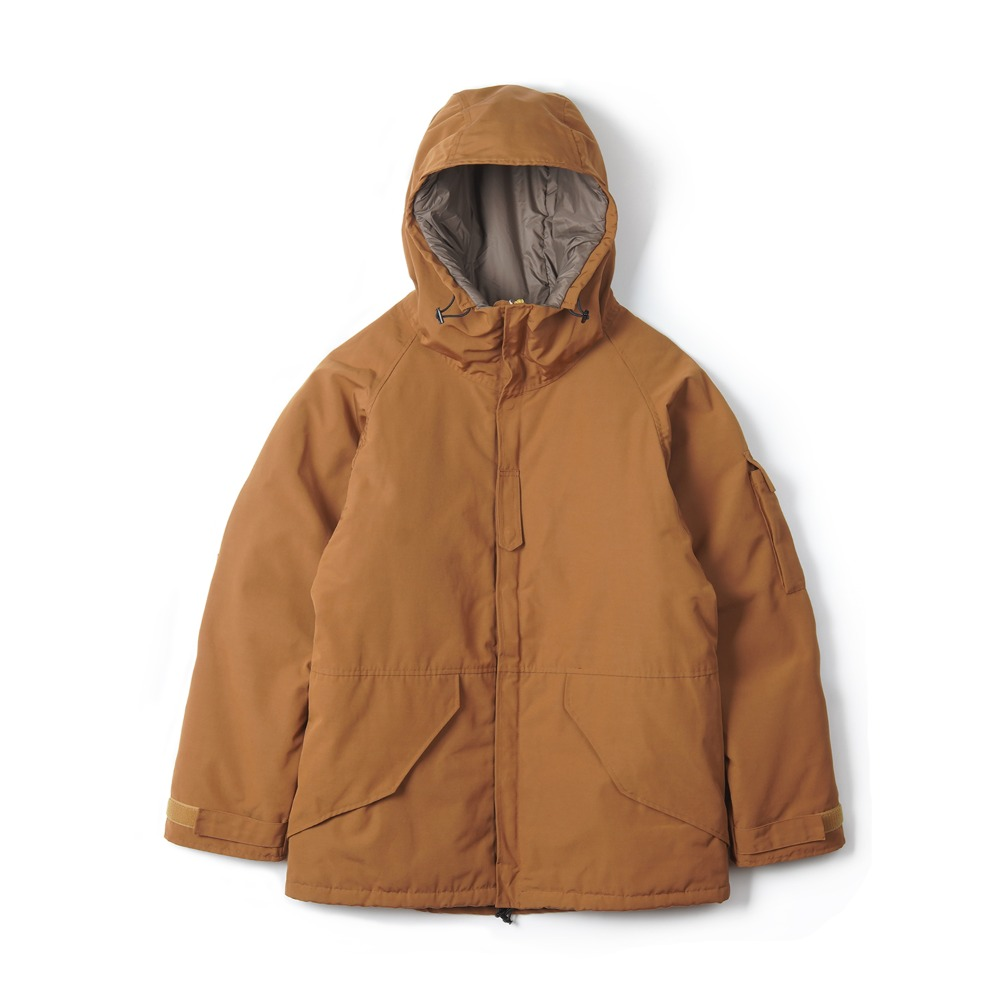 "UNITED CARR Parka Cold Weather ""Camel"""