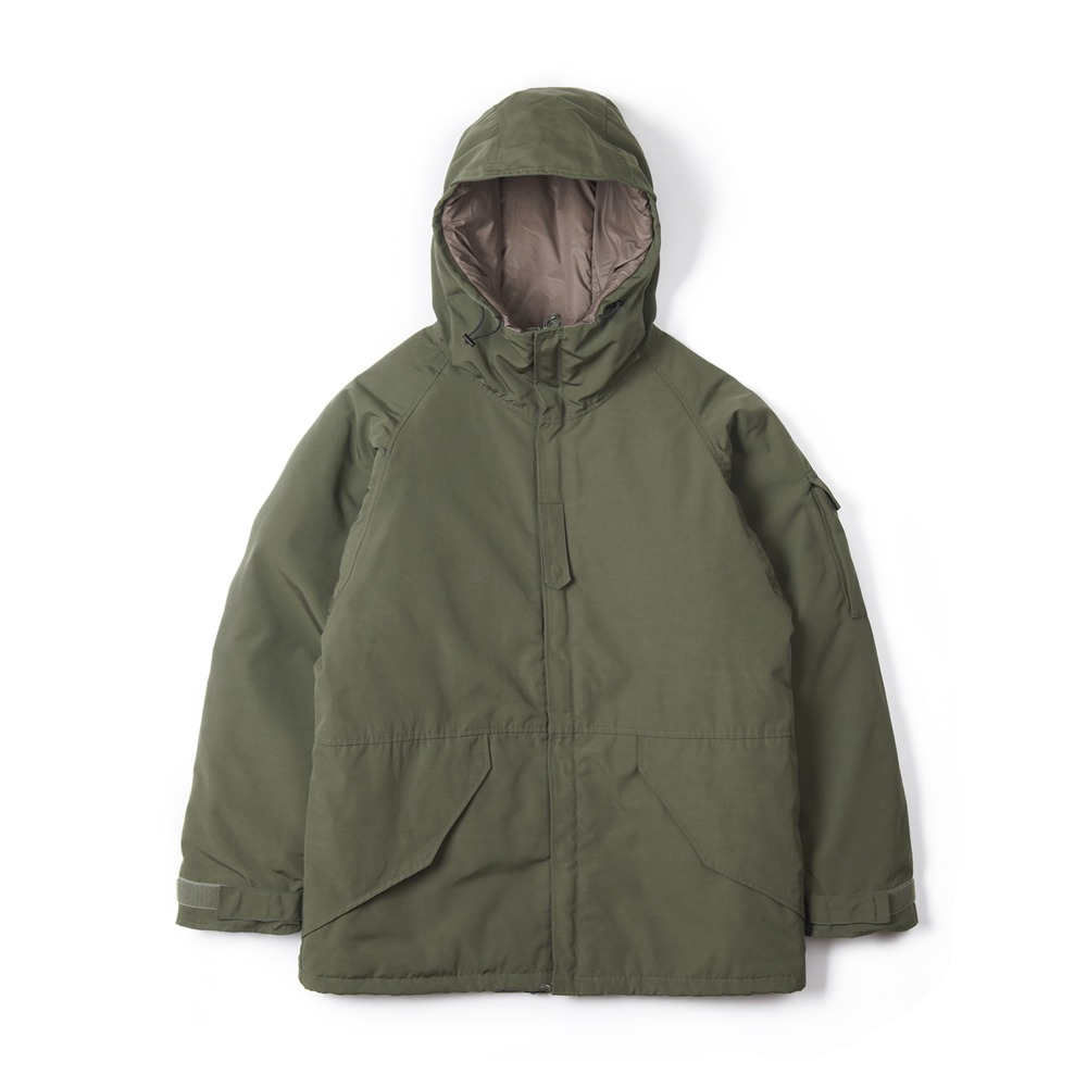 "UNITED CARR Parka Cold Weather ""Olive"""
