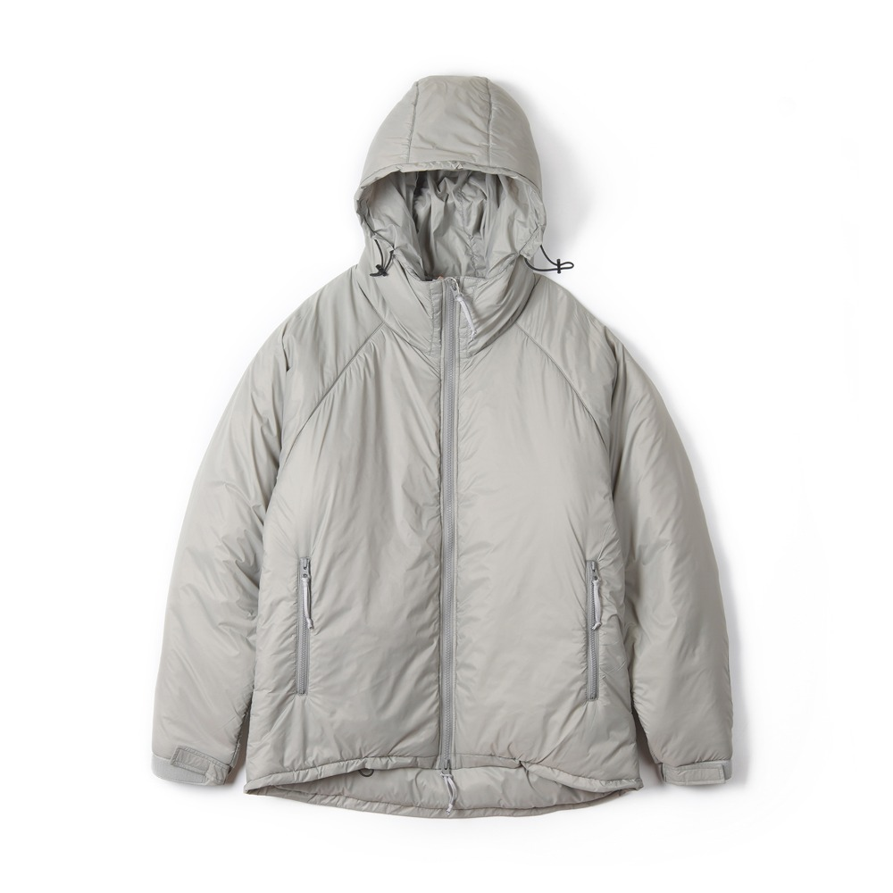"UNITED CARR Parka, Extreme, Cold, Weather, Padding ""Grey"""
